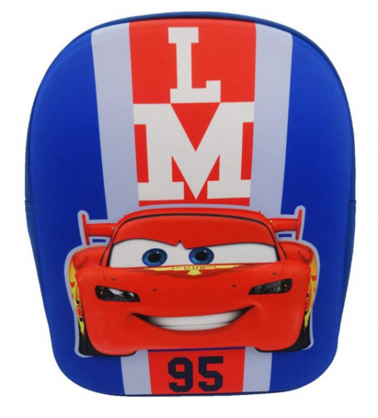 Disney Cars 'Lightning Mcqueen 95' 3d Eva School Bag Rucksack Backpack