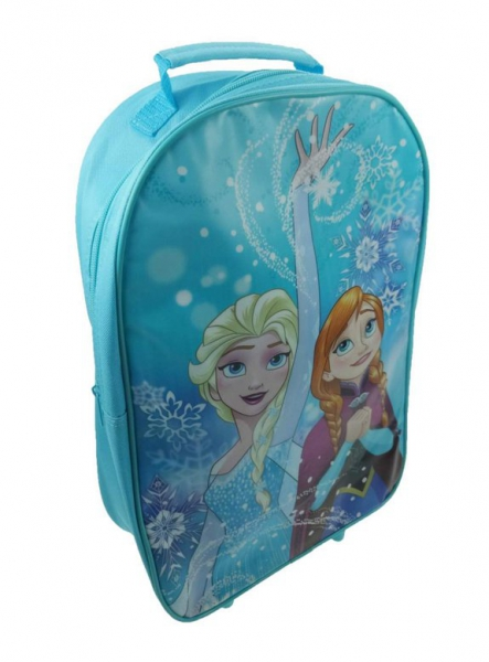 Disney Frozen 'Northern Lights' School Travel Trolley Roller Wheeled Bag