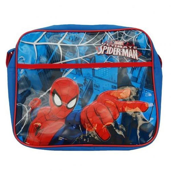 Spideman 'Spiderweb' Courier School Shoulder Bag