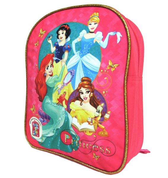 Disney Princess 'Fairy Tale' Led Light Up School Bag Rucksack Backpack