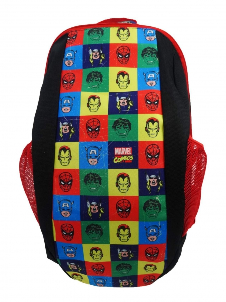 Marvel Comics 'Vintage Squares' Urban School Bag Rucksack Backpack