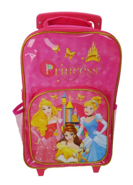 Disney Princess 'Fairytale Friendship' School Travel Trolley Roller Wheeled Bag