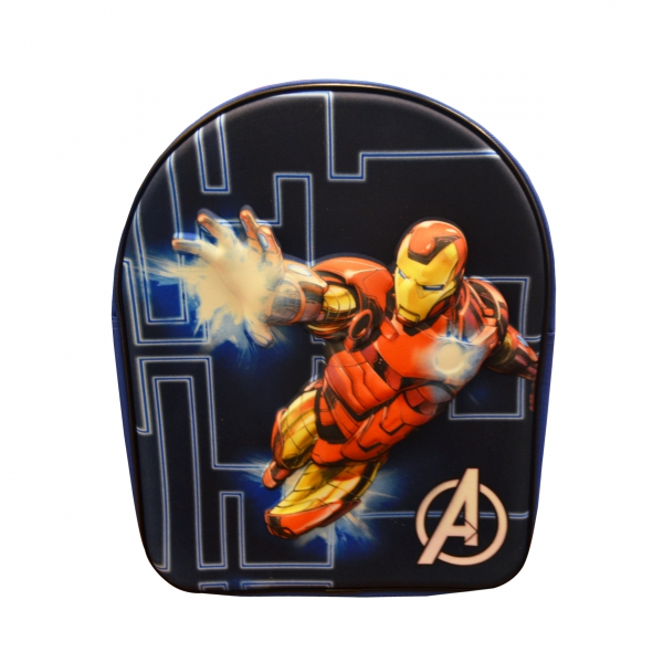 Avengers Iron Man 3d School Bag Rucksack Backpack