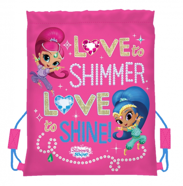 Shimmer and Shine 'Love' School Trainer Bag