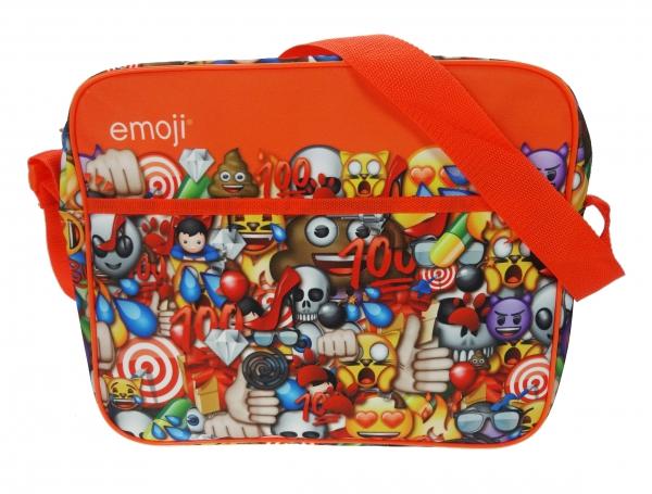 Emoji Emoticons 'Courier' School Shoulder Bag