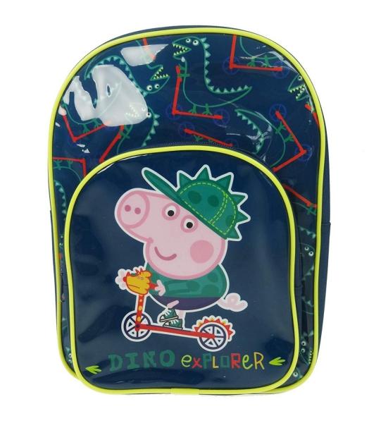 Peppa Pig Dino Explorer School Bag Rucksack Backpack