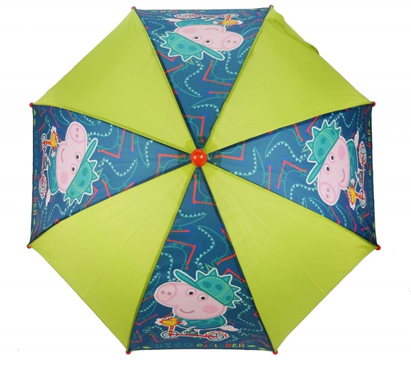 Peppa George Pig School Rain Brolly Umbrella