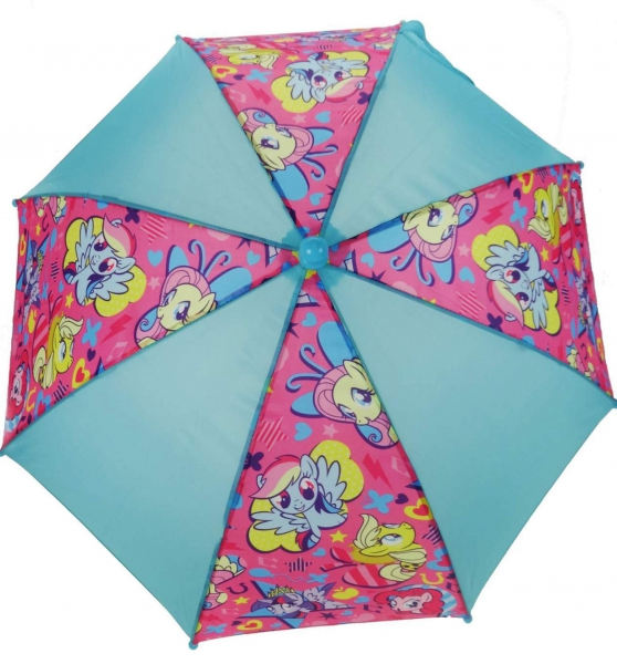 My Little Pony Blue & Pink School Rain Brolly Umbrella