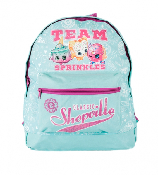 Shopkins 'Team' Roxy School Bag Rucksack Backpack