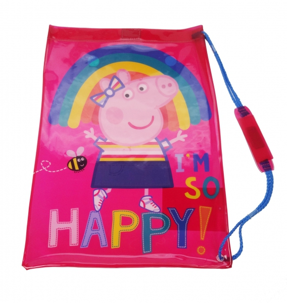 Peppa Pig 'Be Happy' School Swim Bag