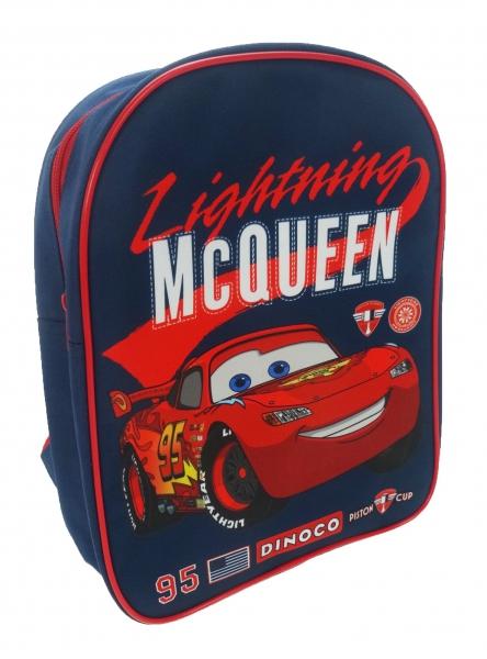 Disney Cars 'Lightning Mcqueen' Pvc Front School Bag Rucksack Backpack