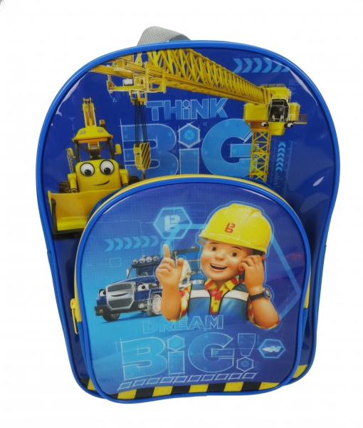 Bob The Builder 'Arch Pocket' School Bag Rucksack Backpack