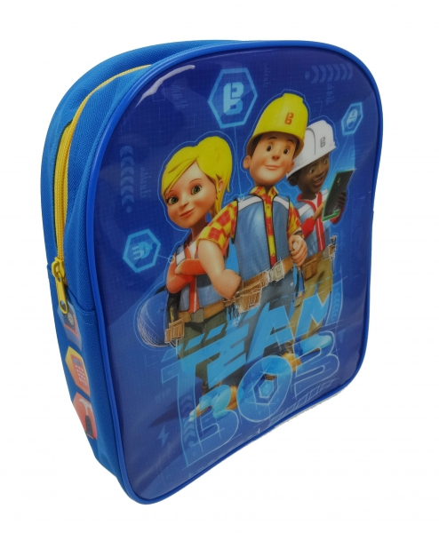 Bob The Builder 'Pvc Front' School Bag Rucksack Backpack