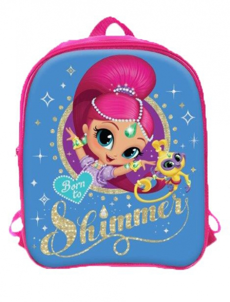 Shimmer & Shine 'Reversible' School Bag Rucksack Backpack