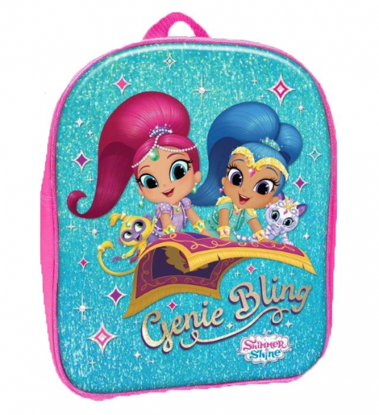 Shimmer & Shine Pv School Bag Rucksack Backpack
