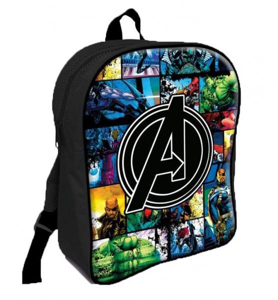 Avengers Pvc Front School Bag Rucksack Backpack