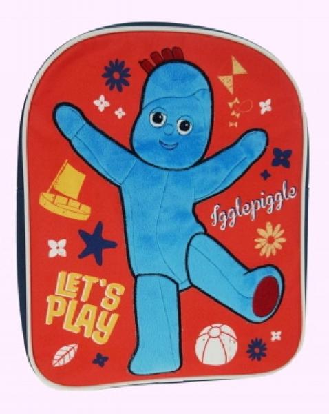 In The Night Garden Novelty Red School Bag Rucksack Backpack