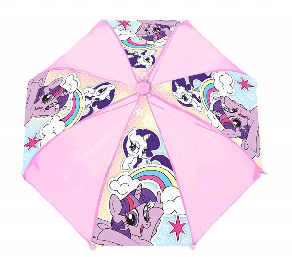 My Little Pony Pink School Rain Brolly Umbrella