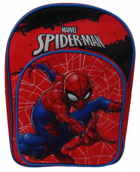 Spiderman Red Arch School Bag Rucksack Backpack