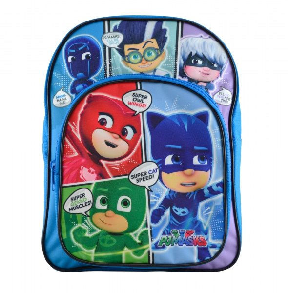 Pj Masks Comics Arch Pocket School Bag Rucksack Backpack