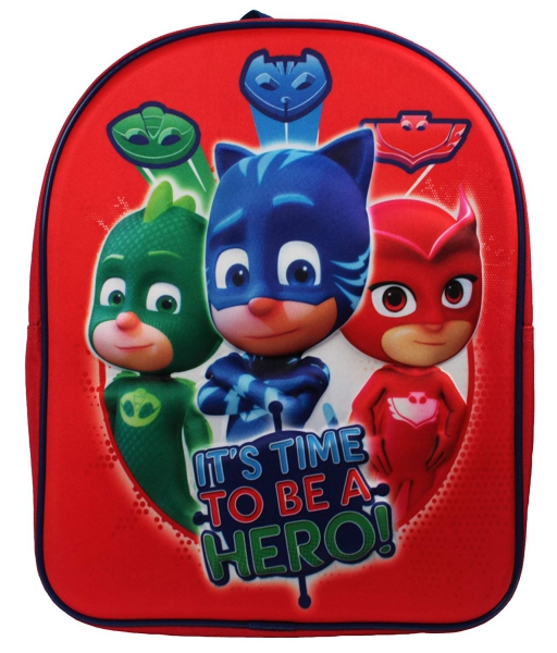 Pj Masks Eva 3d School Bag Rucksack Backpack