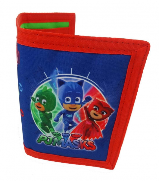 Disney Pj Masks 'It' S Time To Be a Hero' Trifold Wallet