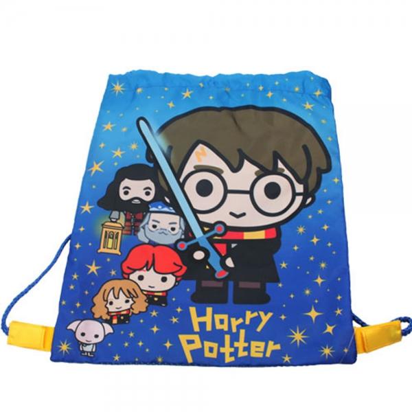 Harry Potter Charm Kids Drawstring School Pe Gym Trainer Bag