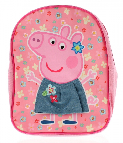 Peppa Pig 3d Skirt School Bag Rucksack Backpack
