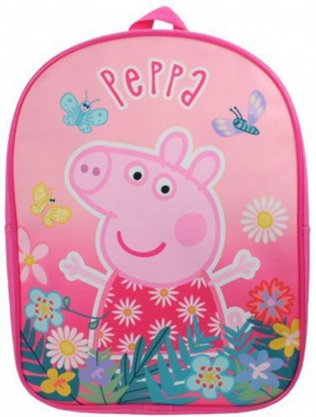 Peppa Pig Beatiful Pink School Bag Rucksack Backpack