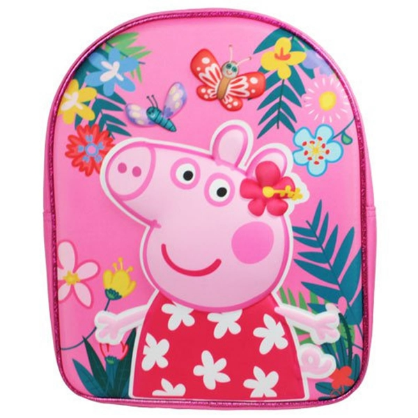 Peppa Pig Classic 3d Eva School Bag Rucksack Backpack