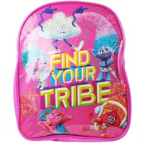 Trolls Hair In The Air Plain School Bag Rucksack Backpack