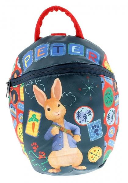 Peter Rabbit Reins Kids Bag Blue School Rucksack Backpack