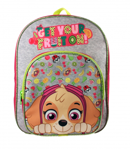 Paw Patrol Get Your Fruit On! School Bag Rucksack Backpack