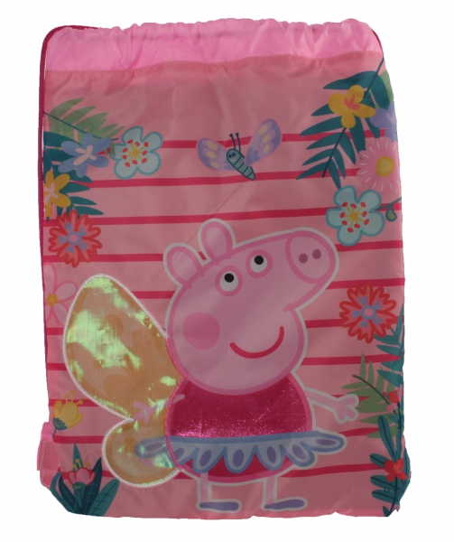 Peppa Pig Beatiful Drawstring School Pe Gym Trainer Bag