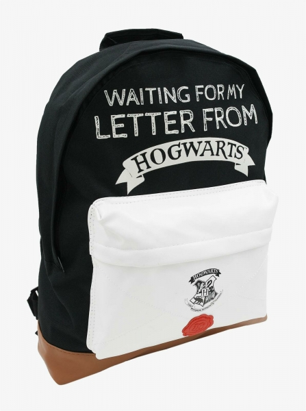 Harry Potter Roxy 'Waiting For My Letter From Hogwarts' School Bag Rucksack Backpack