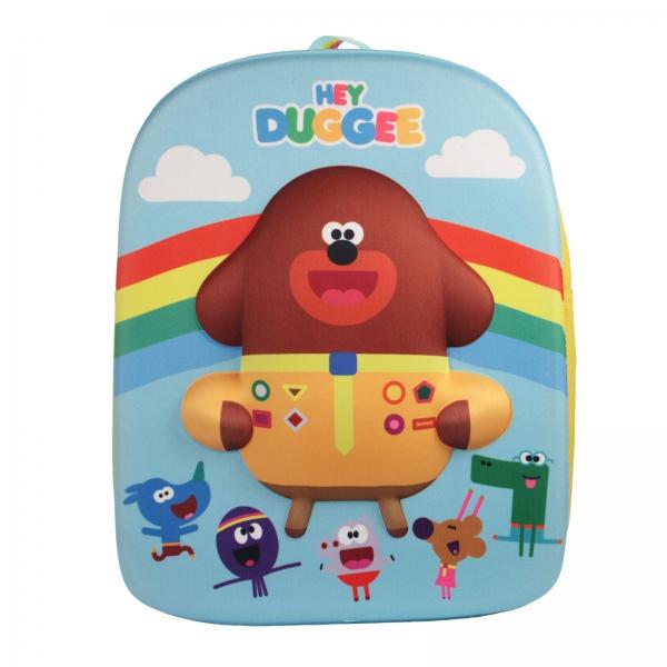 Hey Duggee 3d School Bag Rucksack Backpack