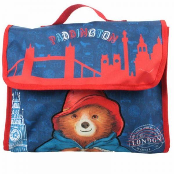 Paddington Bear Satchel Book Bag School Despatch