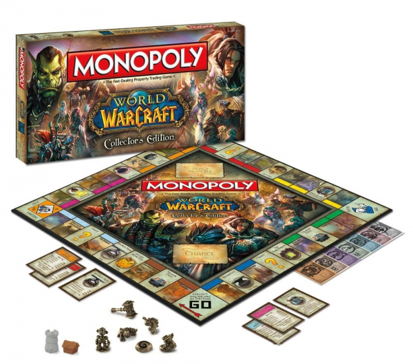 World of Warcraft 'Collector' S Edition' Monopoly Board Game
