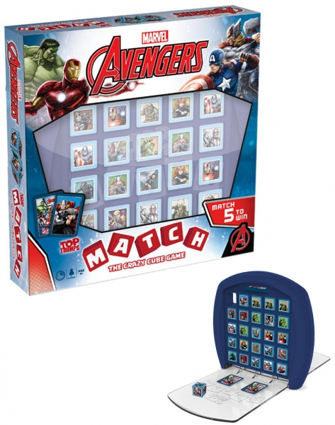 Avengers 'Top Trumps Match' Board Game