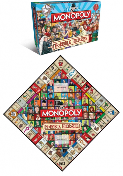Horrible Histories Monopoly Board Game