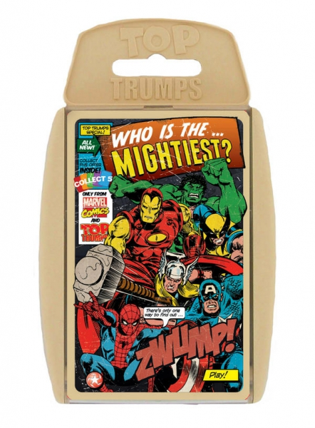 Marvel Comic Retro 'Top Trumps' Card Game