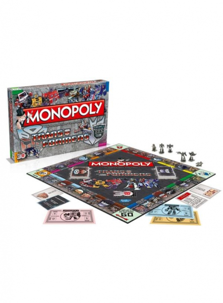 The Transformers 'Monopoly' Board Game