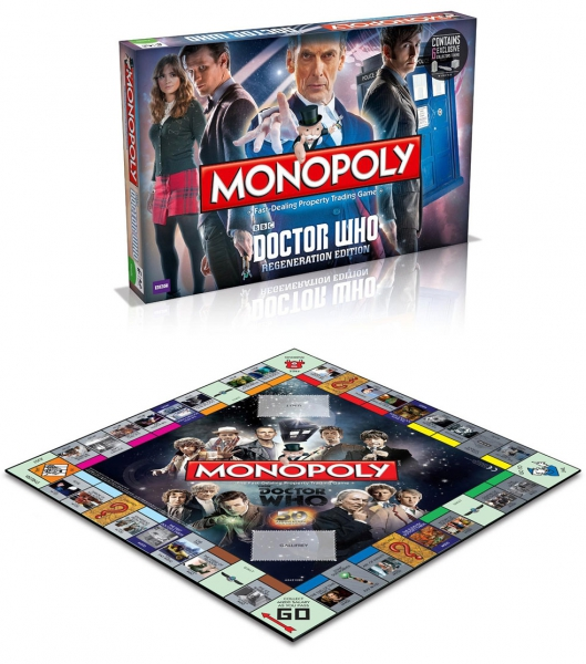 Doctor Who 'Regeneration Edition' Monopoly Board Game