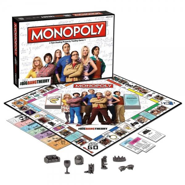 The Big Bang Theory 'Monopoly' Board Game