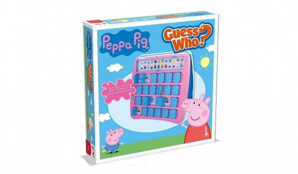 Peppa Pig Guess Who Board Game Puzzle