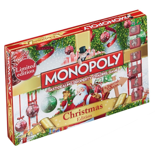 Monopoly Christmas Board Game
