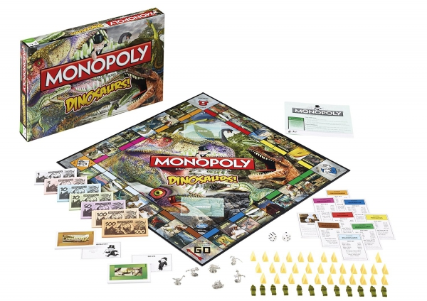 Dinosaurs 'Discovery' Monopoly Board Game