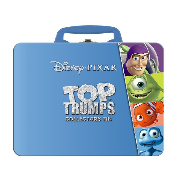 Disney Pixar 'Top Trumps' Collectors Tin Card Game