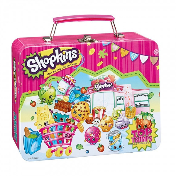 Shopkins 'Top Trumps' Collectors Tin Card Game