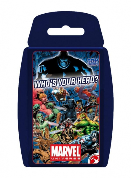 Marvel Universe 'Top Trumps' Card Game